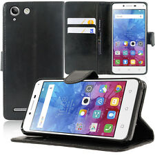 Etui Coque Housse Portefeuille Support Video Lenovo Vibe K5/ K5 Plus A6020a46