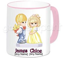 Personalised Gift Romantic Love Couple Mug Valentines Anniversary Birthday #2