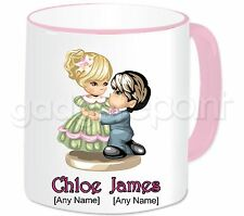 Personalised Gift Romantic Love Couple Mug Valentines Anniversary Birthday #7