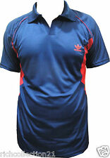 T-Shirt Sports Active with Collar Neck Slim Fit for Men's Size L- XL- XXL