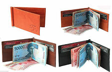 WALLETSNBAGS MONEY CLIP LEATHER WALLET CUM CREDIT CARD HOLDER (FACTORY SECONDS)