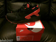 NIKE AIR HUARACHE LOVE HATE PACK BLACK QS LIMITED EDITION SIZE UK 6 NEW