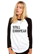 Still European Brexit Referendum Womens Baseball Top