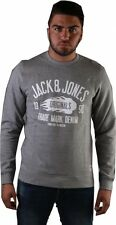 Jack&Jones Herren Sweatshirt JOROSKAR SWEAT MIX PACK Light Grey