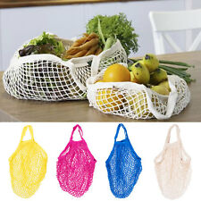 Eco Cotton String Net Shopping Bag Turtle Bag Fruit Grocery Storage Tote 4 Color