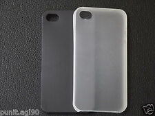 0.3 mm Ultra Thin Paper Frosted Back Cover Case For Apple iPhone 4 4S 4G