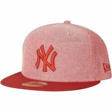 New Era 59Fifty Fitted Cap - OXFORD New York Yankees hellrot
