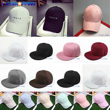 Mens Womens Summer Baseball Cap Adjustable Snapback Visor Outdoor Sport Sun Hat