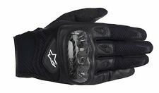 Alpinestars Smx 2 Air Carbone Cuir Noir/Filet Moto Gants Été