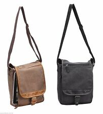 Canvas Tahoe Sling Messenger Bag - AP4653