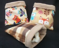 ,GUINEA PIG BED,RAT,DEGU FLEECE SNUGGLE POUCH,CUDDLE CUP SACK SLEEPING BAG LARGE