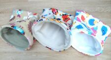 GUINEA PIG BED RAT DEGU FLEECE SNUGGLE POUCH,CUDDLE CUP SLEEPING BAG SACK X LGE