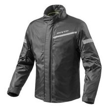 REV'IT CYCLONE 2 H2O Chaqueta Impermeable - Negro & Hi Vis Yell