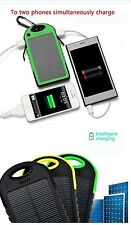 Chargeur Solaire Power Bank Solar Charger 5000 mah for all mobile phone tablet