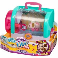 Little Live Pets Electronic Mice - Lil' Mouse House & Mouse Series 3 - NEW 2016