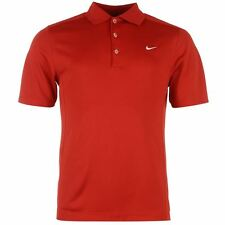 MENS OFFICIAL NIKE SOLID POLO SHIRT SIZES S-2XL SPORTING CASUAL