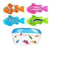 Robofish Activated Battery Powered Robo Fish Toy Children Kids Robotic Pet Gift