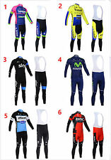 EQUIPACION CICLISMO ENTRETIEMPO AUTUMN  CYCLING MAILLOT JERSEY ROPA