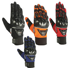 Motorbike Enduro Motocross Gloves, Summer Motorcycle Armoured Gloves, All Sizes