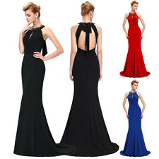 Sexy Womens Formal Evening Prom Party Bridesmaid Ball Gowns Masquerade Dress New
