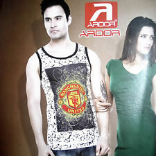 (Size-M-Chest-38 ) Printed Smart Sando For Mens Wear,100%Cotton (SKU-JB93191)