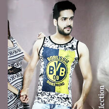 (Size-M-Chest-38 ) Printed Sando, 100%Cotton sando, Stylish Smart (SKU-JB93193)