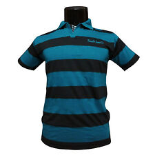 Mens Collar TShirt, Striped TShirt,100% Cotton Fabric Semi-formal t-shirt