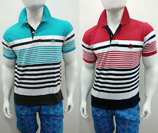 UNITED COLORS OF BENETTON (UCB) PRINTED POLO T SHIRTS (CURRENT SHOWROOM QUALITY)