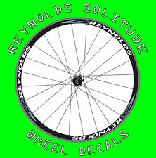 Reynolds Solitude style wheel decals stickers for 700c carbon road wheels