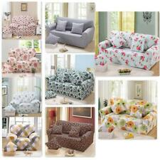 Spandex Stretch 1/ 3-Seater Sofa Couch Seat Cover Loveseat Slipcover Print Decor