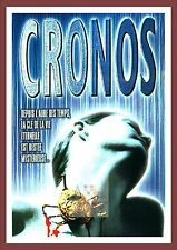 Cronos    Spanish Movie Posters Classic Vintage Cinema