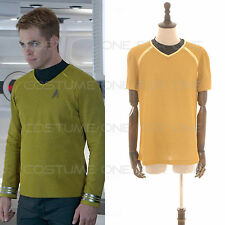 Star Trek cosplay Into Darkness Star Fleet Captain Kirk costume Maglietta S-XXL
