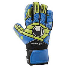 Uhlsport Eliminator Absolutgrip Hn Torwarthandschuhe Gloves blau/power grün
