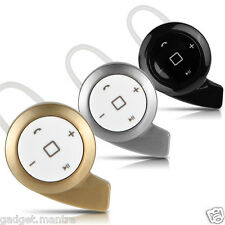 Smallest Mini Snail Style Bluetooth Music Sports Headphone V4.0 Universal