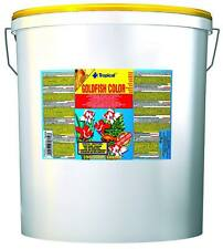 Tropical GOLDFISH COLOR flakes, 5L. Color enhancing food for all goldfish.