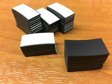 100 Self Adhesive Magnets Magnetic Strips 25 x 12.5mm Cut magnetic strip
