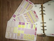 Lemonade Stand Extras Pocket, Personal Planner Stickers for All Planners Types