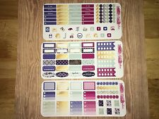 Vintage Gold  Kit Pocket, Personal Planner Stickers for All Planners Types