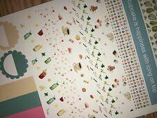 Tea Party Extras Pocket, Personal Planner Stickers for All Planners Types