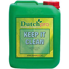 Dutch Pro Keep It Clean 1 & 5 Litres Hydroponic Nutrient Solution Cleaner