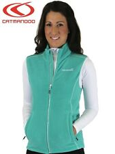 Catmandoo Women's Green Fleece Gilet - Lightweight Thermal Body Warmer