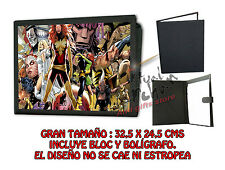 CARPETA XMEN FENIX PHOENIX MARVEL X-MEN LONETA NEGRA FOLDER bloc es