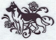 DOG TOWEL   EMBROIDERED     4 COLOURS 12 BREEDS  BNWOT GERMAN SHEPHERD
