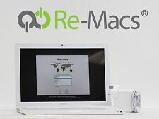 """13"""" Apple MacBook White Edition 2.1GHz C2D 2GB RAM Lion A1181 Early 2008 5447"""