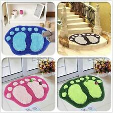 Floor Rug Shower Mat Bathroom Bedroom Absorbent Soft Non-Slip Bath Wool Carpet