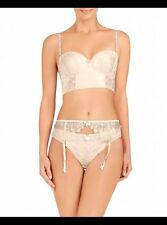Pleasure state Dew/Ivory August Skye suspender belt rrp £37