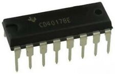 CD4017 CMOS counter/divisore DIP 16 TEXAS INSTRUMENTS