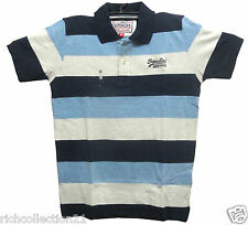 Men's Branded Look Big Striped Matty Cotton Slim Fit T-shirt # Size L,XXL