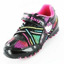 Hello Kitty Girl's Rainbow School Shoes Trainers
