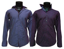 Mens Wear Reversible Shirts, Cotton Silk Smart Shirt For Mens Wear (SKU-JS89696)